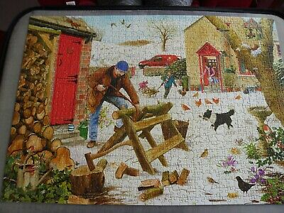 HOUSE OF PUZZLES 1000 piece jigsaw WINTER FUEL