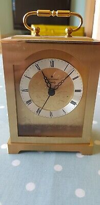 A Vintage Junghans Quartz Carriage Clock