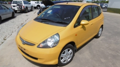 Honda Jazz 2007 Yellow Hatch Like Echo Yaris Mazda2 Fiesta Colt Micra Polo Alto