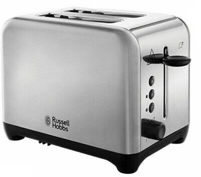 Russell Hobbs Waverley Silver Toaster 24100 NEW High Lift #BargainTrend