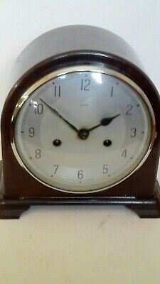 Vintage Art deco Smiths Bakelite Mantel Clock