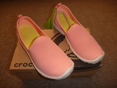 7419a05e8f77 Ladies Crocs Duet Busy Day skimmer in Melon Stucco shade Size UK 6 EU 38