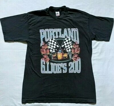 Vintage GI JOES 200 Portland Rose Festival T-Shirt 80s 90s USA Single Stitch L