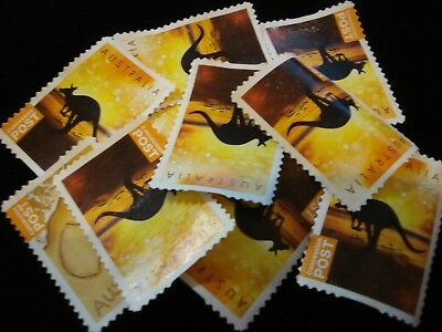 Australian Concession Stamps 100 pc Unfranked Collection $100 FV '