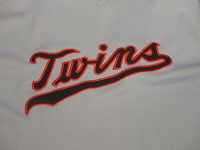 3470bd60 MAJESTIC MINNESOTA TWINS Baseball COOPERSTOWN Throwback TEAM JERSEY sz (XL)  MINT