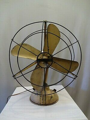 Vintage Ercole Marelli Fans 1950S Antique Table Fan Electric Italy Rare Collec*
