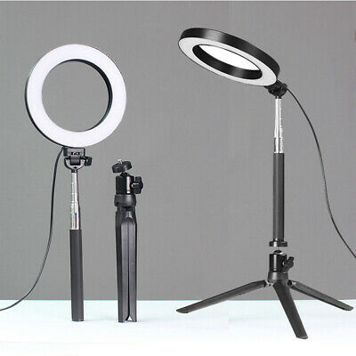 64 LED SMD Ring Light with Stand Dimmable Lighting Kit For Makeup Photography