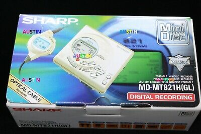 Sharp Md 821 Minidisc Player  Md With Microphone
