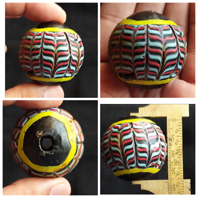 Very Old Colourfull Gabri Glass Wonderfull Bead