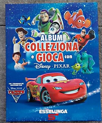 Album Esselunga Disney Pixar Seconda Serie Completo Cards, Tattoo Tabellone
