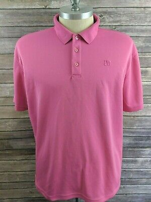 1c236936f LOUDMOUTH GOLF MENS Polo Pink Size 2XL -  19.98