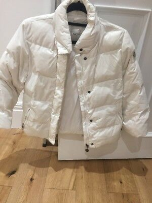 Girls White Moncler Jacket Boys Ski Coat 8 Down Filled Coat Winter