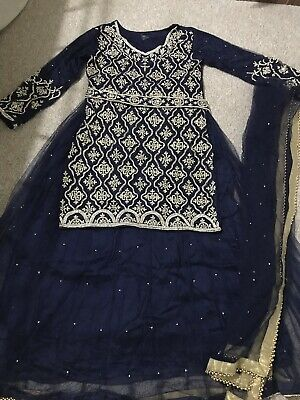 Designer Salwar Shalwar Kameez Indian Asian Bridal Lengha Suit Pakistani
