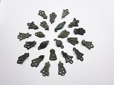 Collection  Viking buckles from the bag 9 -11 centuries