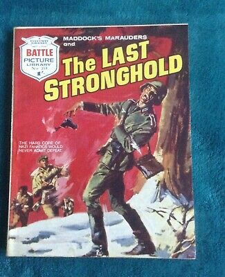Battle Picture Library No 359, The Last Stronghold, Printed 1968