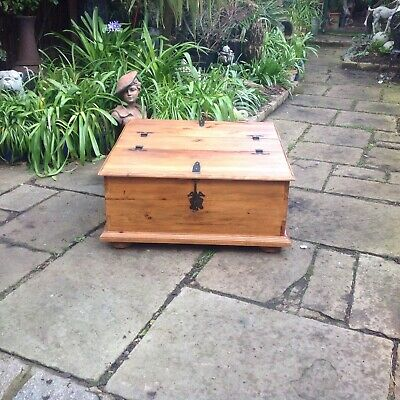 Solid Pine Coffee Table / Storage Chest