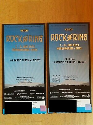 Rock am Ring Weekend Festival und General Camping & Parking Ticket