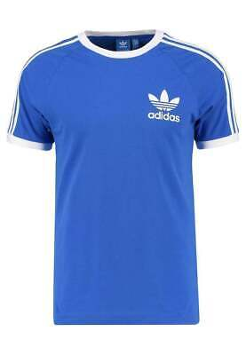 Adidas Originals t shirt Men's California Crew Neck Short Sleeve Royal Blue