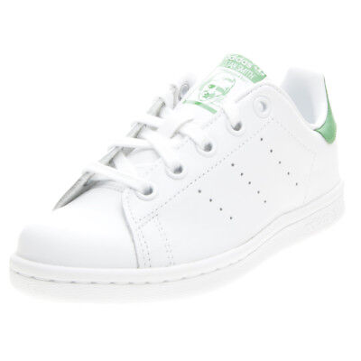 adidas stan smith sneakers bianco verde bb0205