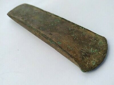 Ancient Bronze Early Celtic Axe