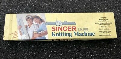 Singer LK100 Knitting Machine LK 100 in Box with Instruction Manual