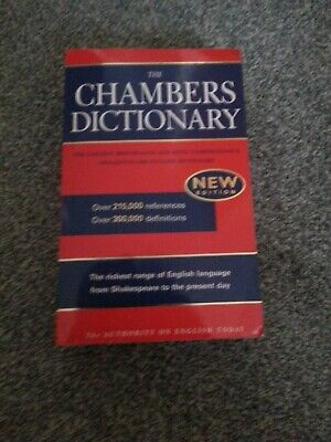 The Chambers Dictionary NEW EDITION by Catherine E Schwarz Hardback