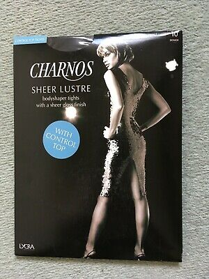 970f744c8db Brand New Charnos Sheer Lustre Bodyshaper Tights with Top Control   High  Gloss S
