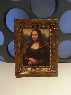 """Doctor Who Mona Lisa Painting City Of Death Classic 5"""" Accessory Spares Parts"""