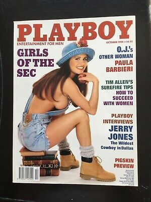 Playboy Magazine October 1994