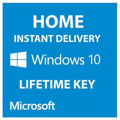 Windows 10 Home Key Product License Activation Code 64 Bit Key Microsoft