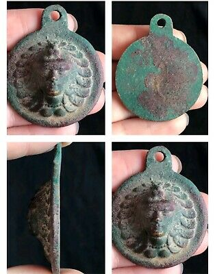 Wonderful Old Egyption Period Very Antique Bronze Pendent