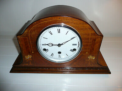 Haller Westminster & Wittington twin chiming mantel or mantle clock, GWO
