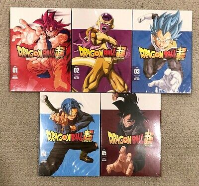 Dragon Ball Super: Parts 1-5 Complete series DVD Set - Free USPS Shipping