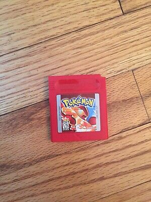 Pokemon: Red Version (Nintendo Game Boy, 1998) Battery Saves! Tested! Works!