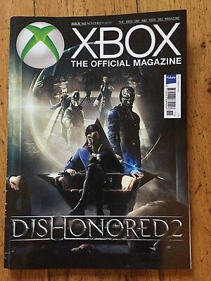X BOX The Official Magazine November 2016 Issue 143 Dishonored 2