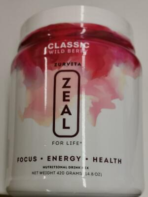 ZURVITA Zeal For Life Classic Wild Berry Canister 420g - 1 Month Supply