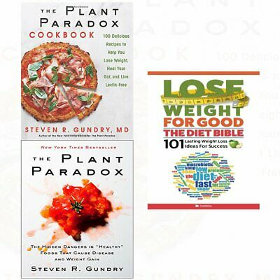 The Plant Paradox Cookbook by Steven R. Gundry (2018)