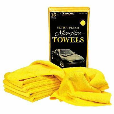 Kirkland 40cm Microfibre Ultra Plush Sft Microfiber Towels Cloth 36 Pack Clothes