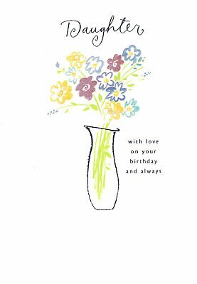 Happy Birthday Just For You Flowers Pop-Up Greeting Card Second Nature 3D POP171