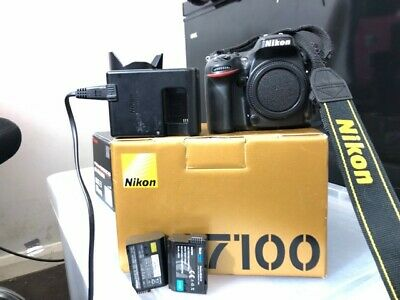 Nikon D7100 24.1MP DSLR Camera - Body only, shutter count 20,108, Boxed