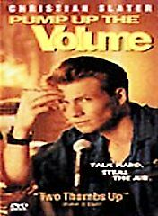 Pump Up the Volume (DVD, 2001) RARE 1990 MUSIC COMEDY DRAMA BRAND NEW