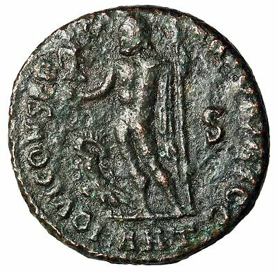 """SCARCE Jupiter Roman Coin of Licinius I """"Deity by Eagle"""" Antioch CERTIFIED"""