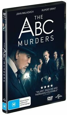 Agatha Christie - The ABC Murders (DVD , 2019) (Region 2,4) New Release