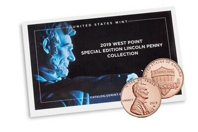 2019 W Lincoln Proof New Premium With COA Sealed Minted Cent! West Point Mint