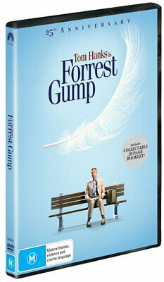 Forrest Gump : 25th Anniversary Edition (DVD , 2019) (Region 4) New Release
