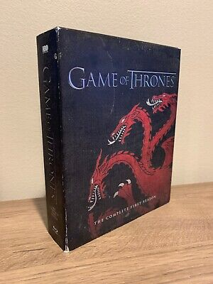 Game of Thrones: Season 1 Blu-Ray 5 Disc Set The Complete First Season