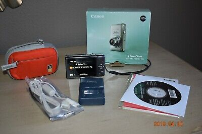 Slightly Used Canon PowerShot ELPH 100 HS 12.1MP Camera - GRAY
