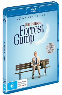 Forrest Gump : 25th Anniversary Edition (Blu-ray , 2019) (Region B) New Release