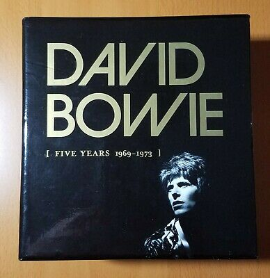 David Bowie Five Years 1969-1973 12 CD Box Set