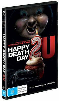 Happy Death Day 2U (DVD , 2019) (Region 2,4,5) New Release